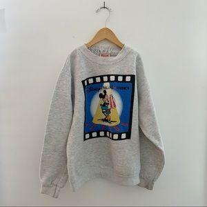 DISNEY MGM Studio Mickey Mouse Crewneck Sweatshirt